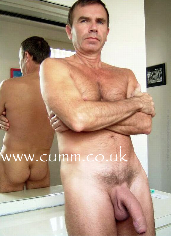 Naked Old Hung Man