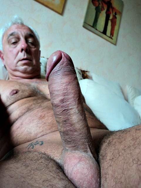 Old men with big dicks porn