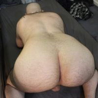 manly arse relaxed and ready