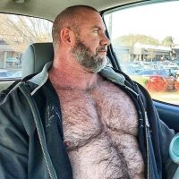 hairy belly dad nude