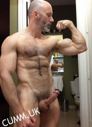 Mature Masculine Muscled