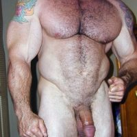 muscle dad soft fat cock