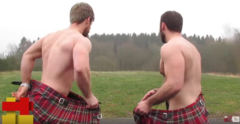 An Almighty Pair of Scottish Arses.