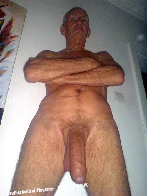 You old men with huge cock