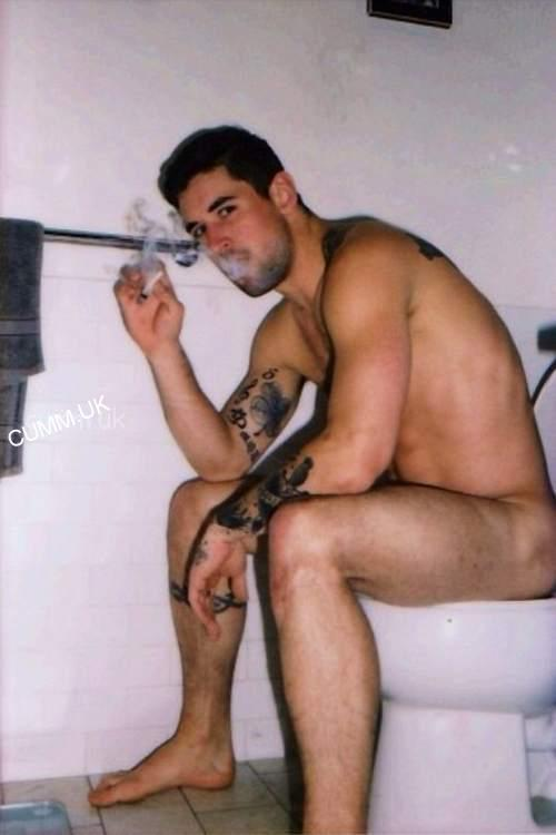 from Casen guy smoking weed naked