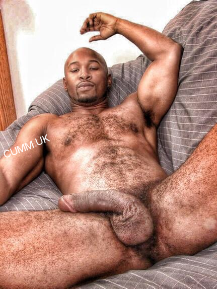Old black man cock