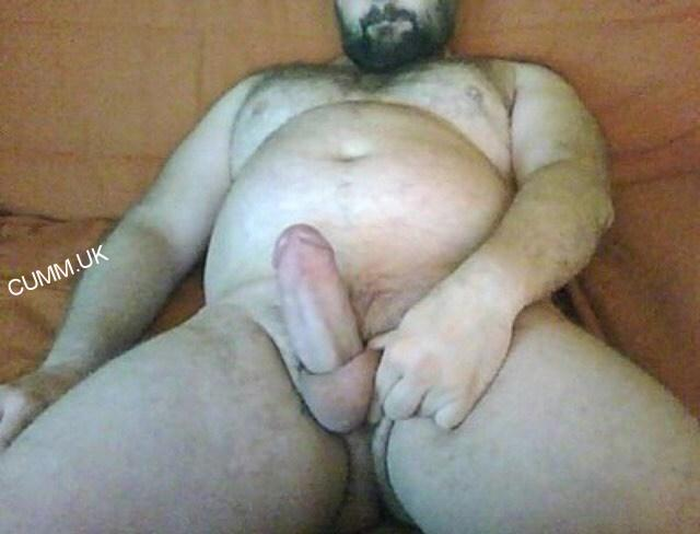 Big black cock jerk off
