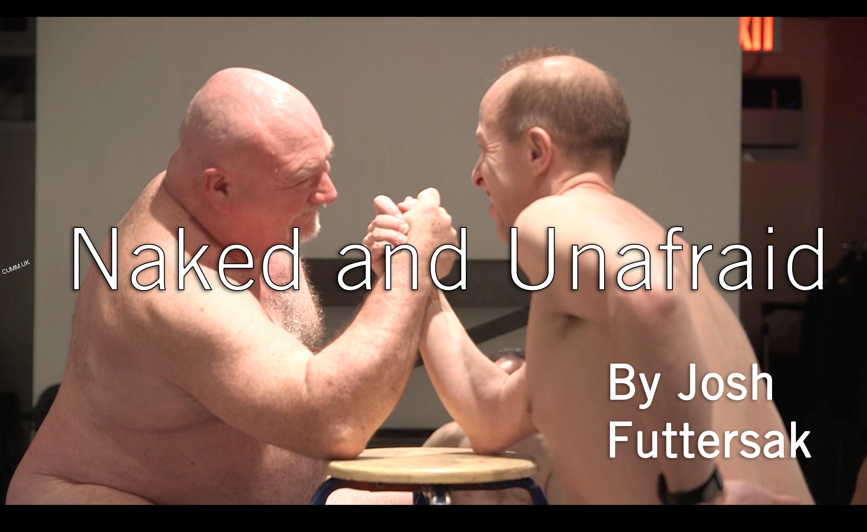 Exposed and Unafraid : The Naked Male Drawing Class