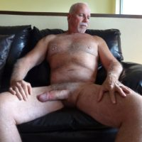 Old man has huge cock