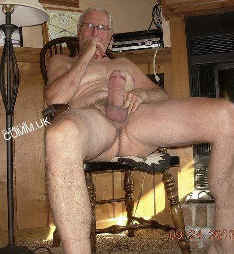 Naked grandpa with long cocks 13