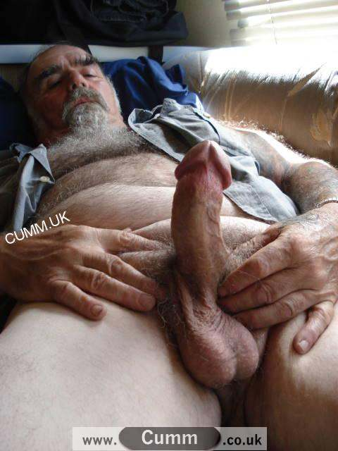 Cut hairy old gay cock cum a rampant