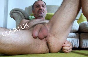 Old Man Big Cock Soft Hanging