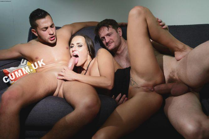 First Time Mmf Threesome