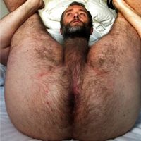 daddy arse hairy hole
