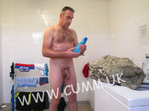 naked dad laundry