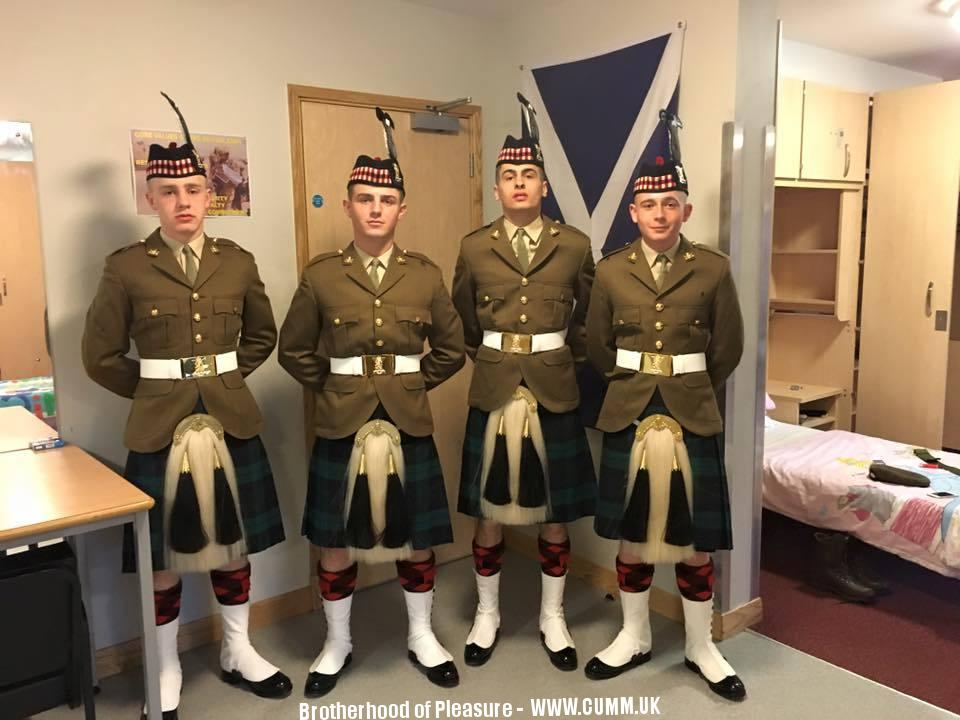 The Kilted Arse Army