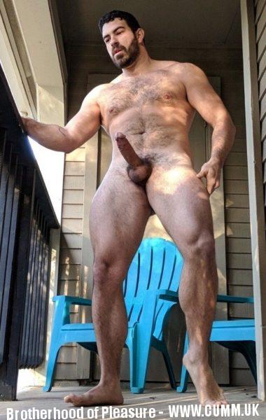 big muscle lad small cock