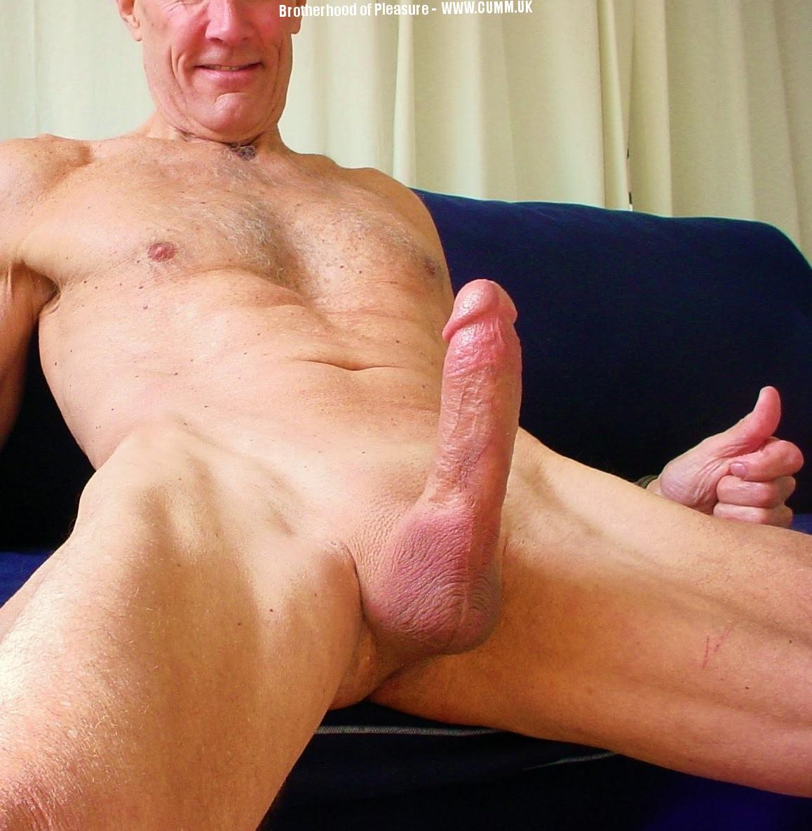 grandad huge cock wanked