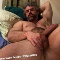 saLT and pepper daddy wanking huge dick