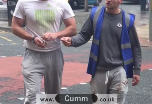 Builders Bulge Grey Jogging Pants