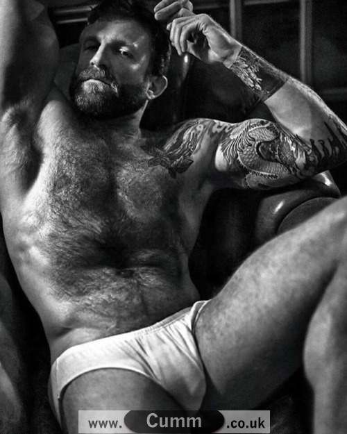 daddy nude white underwear