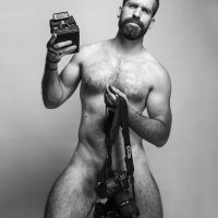 naked hairy photographer