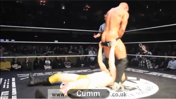 Jack Sexsmith and Bubblegum pantsing each other.