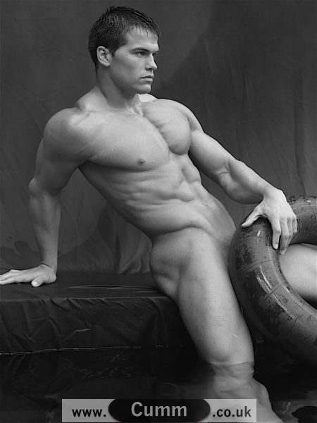 male model nude snake covering big penis