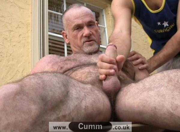daddy bears cock massage
