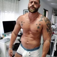 straight gay or bisexual big daddy bulge vpl