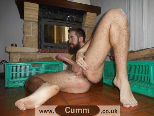 Gift-from-God-hairy-lad-wanking