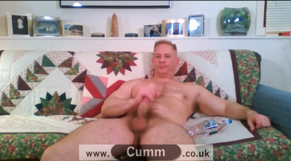 muscle dad wank