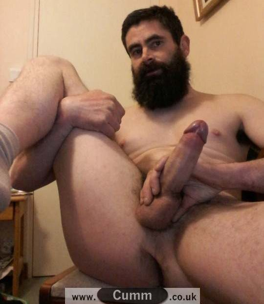 bearded dad naked cock of god