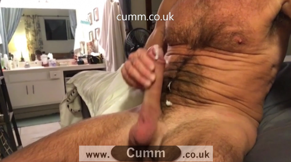daddy cock slaps and cumm shot