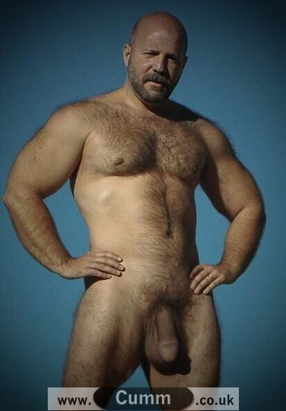 daddy soft cock bear bull balls