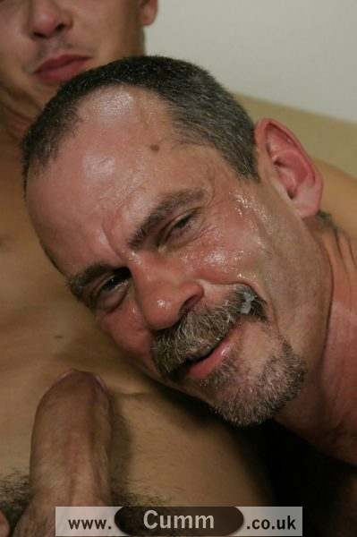 sexy dad spunked face pics