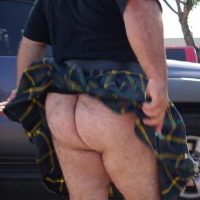 kilted huge arse hairy