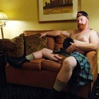 kilt-army-lad-has-erection