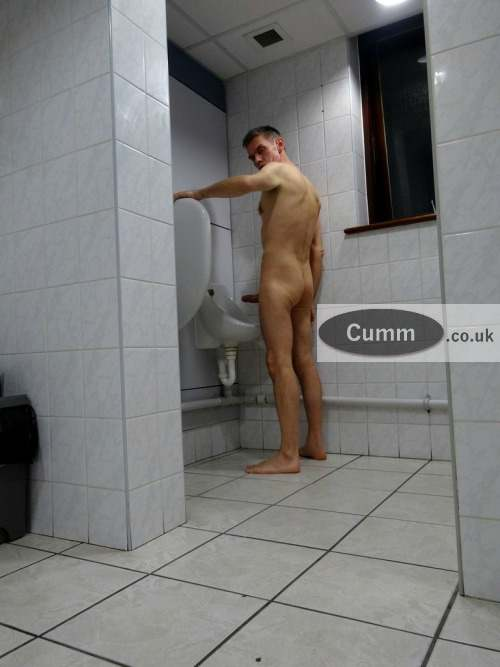 best wank at urinal