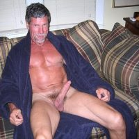 bathrobe daddy dick
