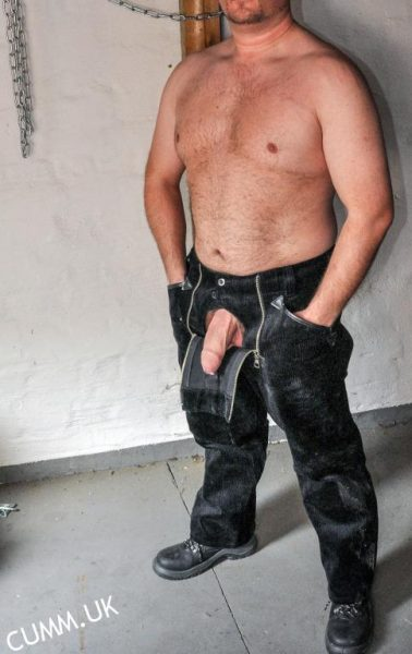 sexually active not leather-daddy-mature-cock-exposed