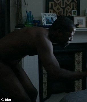 Adrian Lester big black cock on the bbc