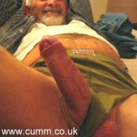 grandpa big cock showoff
