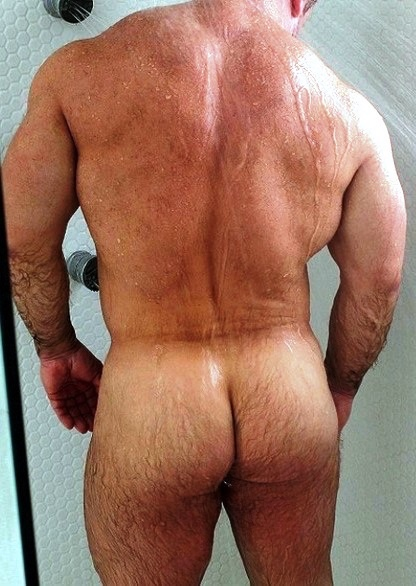 arse hairy muscular
