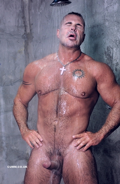 Hunk shower gay