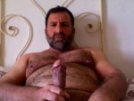 hairy older man