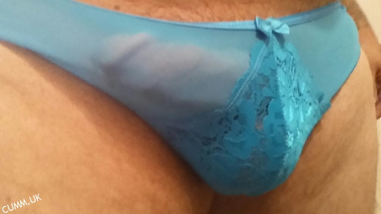 big cock in blue panties – 💕the brotherhood of pleasure💕