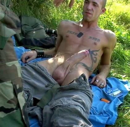 army lad cock show