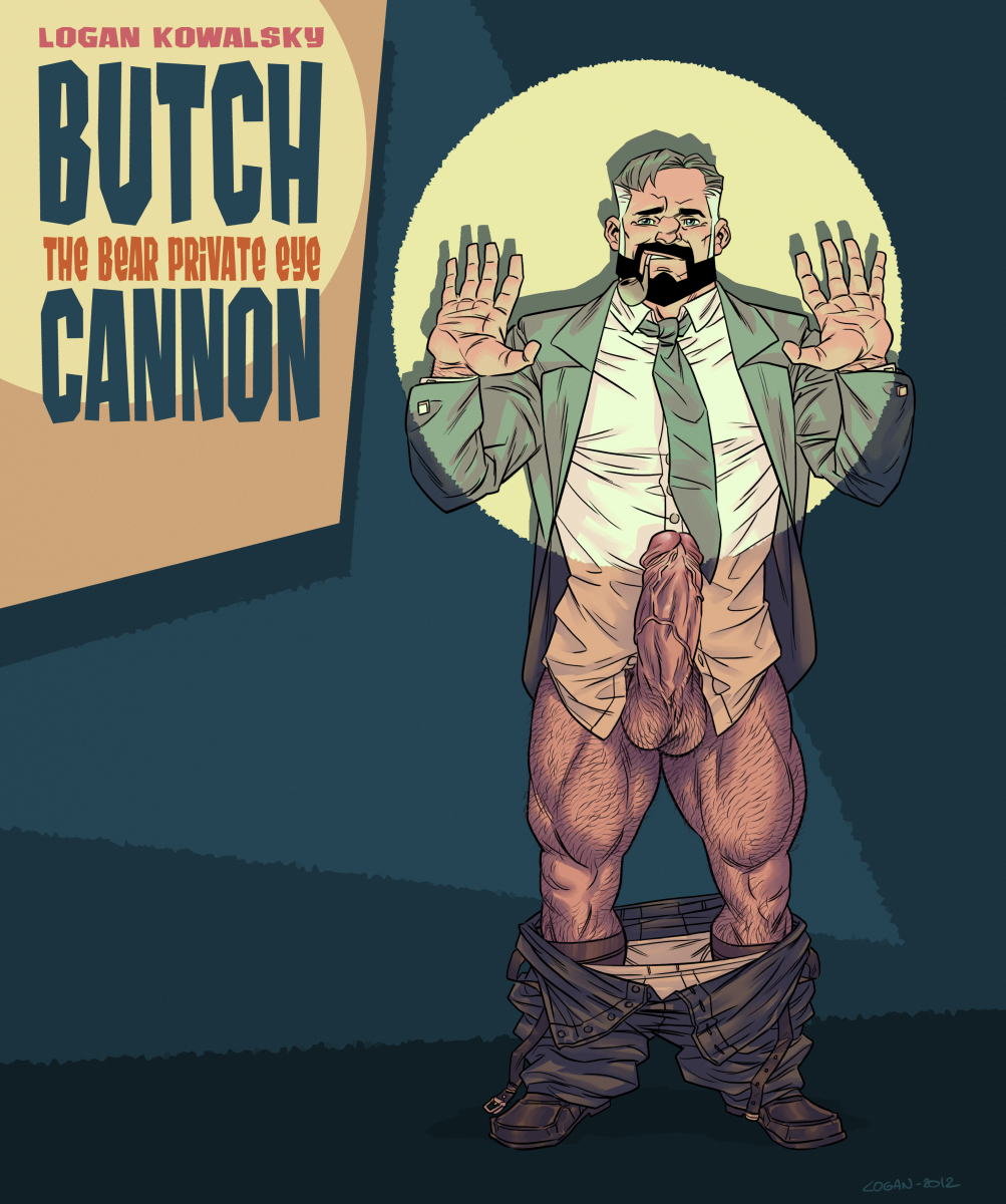 daddy bear artwork butch cannon