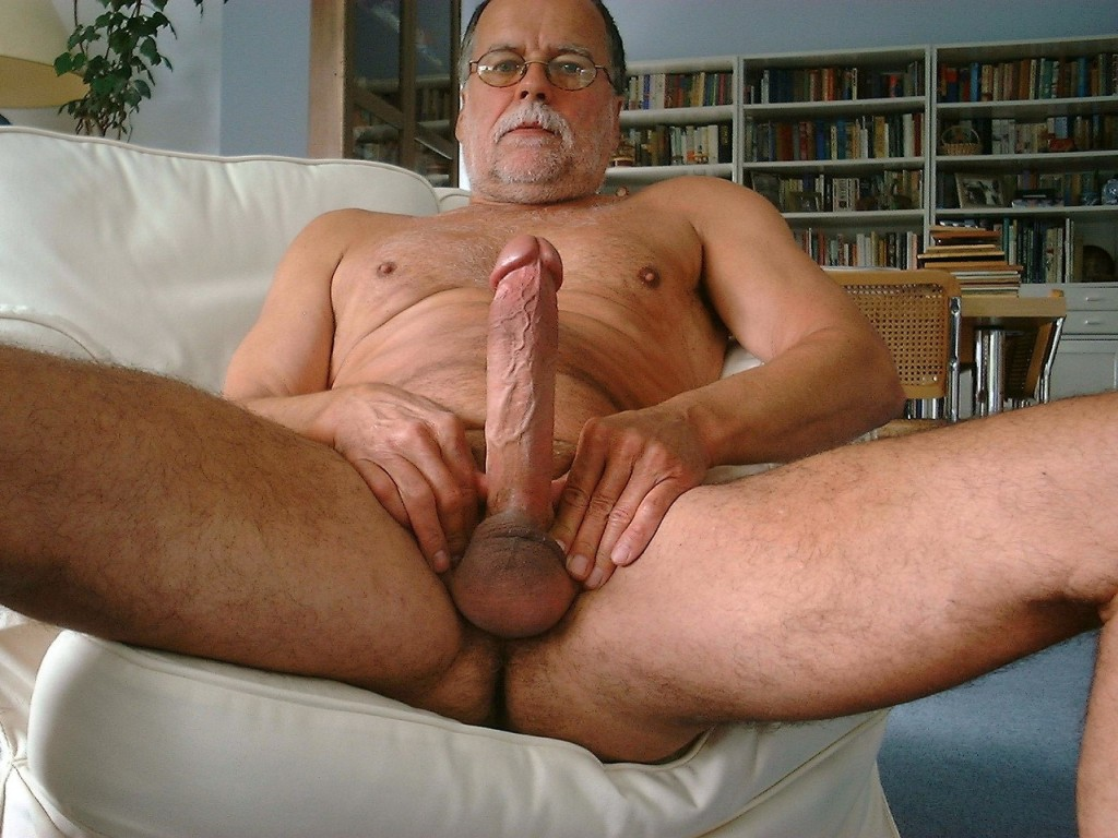 Sex big cock old men fat